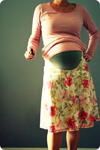 new maternity skirt