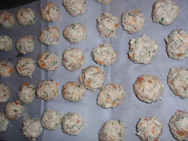 shrimp meatballs raw