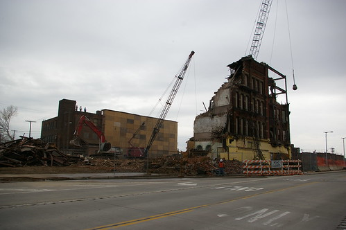 Demolition on Euclid Avenue