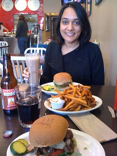 Lunch at FOUR Burgers