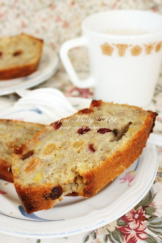 Raisin banana Bread