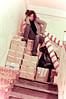 Traslocare l'è dura (cherry robber) Tags: trasloco portrait moving box indoor boxes noia pacchi monnezza desperatehousewife scovaze scatole stufo cataloghi pacchetti chebarba pacchettini capsistick lollycapsi pacchettoni giornai stufadiz