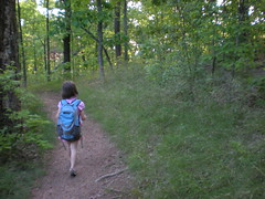 5 - Sophie Navigating the Yucca Trail
