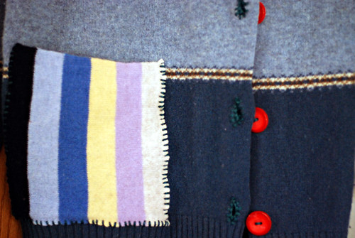 cardigan close up