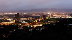 Universal City seen from the Hollywood Hills (jver64) Tags: california usa losangeles universalcity hollywood universalstudios hollywoodhills mulhollanddrive