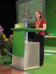 Delegierte auf dem Grünen-Parteitag