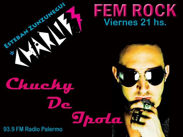 Programa Viernes 15 de Mayo by FEM RocK