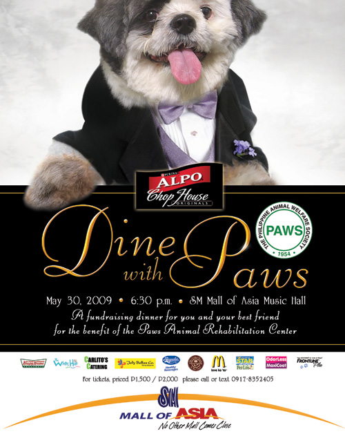 Dine with PAWS!