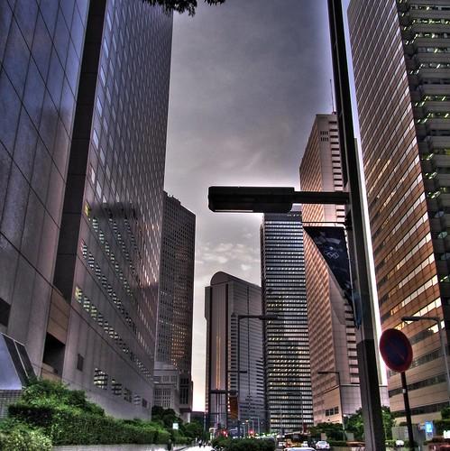 Surrounding of Tokyo metropolitan government