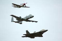 Heritage flight (Bosta) Tags: airshow thunderbirds jsoh andrewsairforcebase aafb jointserviceopenhouse