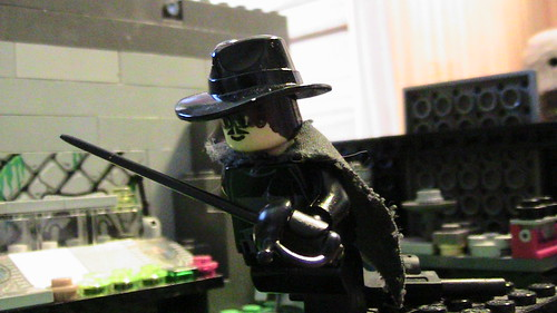 Lego Zorro custom minifig