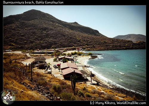Buenaventura beach, Bahia Constitucion