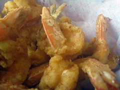 crawfish shack seafood - fried shrimp