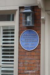 Photo of Richard Savage blue plaque