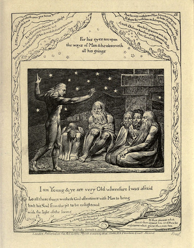 010- El libro de Job-William Blake 1825