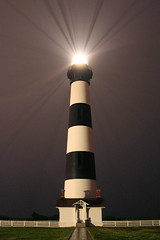 Bodie Island Light in Rain (icecubephoto - trying to catch up) Tags: outerbanks bodieislandlighthouse bodieisland bodieislandlight