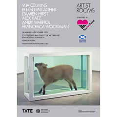 Artist Rooms at the Scottish National Gallery of Modern Art poster