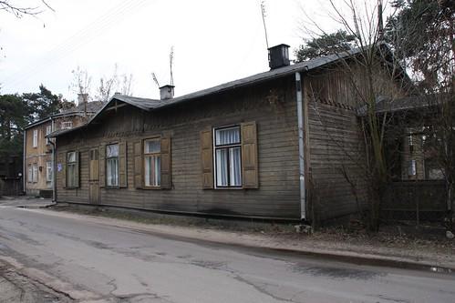 Drewniany budynek (Reymonta 26a) w Otwocku