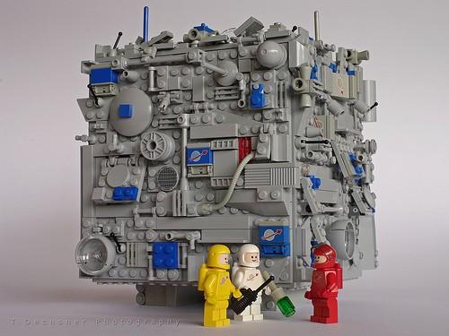 Classic Space Borg Cube