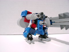 MgN-302 variant: Charade (The Enigma That is Fennec Fox) Tags: lego micro mecha electromagnet mechaton mgn302