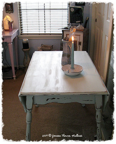 Farmhouse Table Craft Space