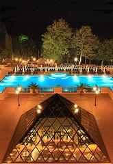 Melia Grand Hermitage (ionut iordache) Tags: trees pool night canon hotel bulgaria blacksea melia varna goldensands canon450d tamron1750mmf28xr canoneos450d zlatnipyasatsi canondigitalrebelxsi grandhermitagehotel