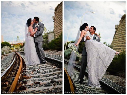 Meagan and Michael - On romantic track