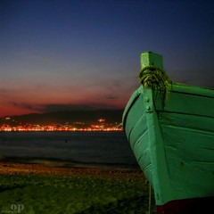 The Messina Strait from Gallico, Reggio Calabria (Osvaldo_Zoom) Tags: night landscape boat bravo rope sicily calabria noponte messinastrait dp1002