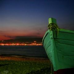 The Messina Strait from Gallico, Reggio Calabria (Osvaldo_Zoom) Tags: night landscape boat bravo rope sicily calabria noponte messinastrait dp1002