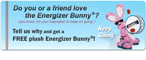 3613862115 6958cbdbf4 LOVE the Energizer Bunny? Tell us & Get One!