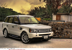 Range Rover Sport S\C (Talal Al-Mtn) Tags: 2005 white tree green sc sport canon shot d awesome rr rover super 2006 land kuwait landrover 2008 range rangerover 2009 charge lr talal 2007 supercharged q8 the rrs kwt 450d canon450d rangesport almtn talalalmtn  rangeroverinkuwait