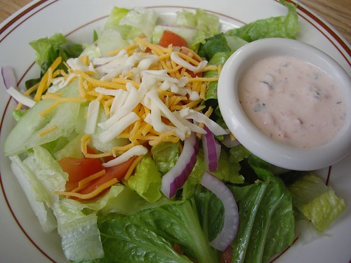 Small House Salad from Louie's Grill