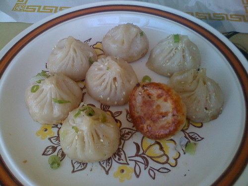 Shanghai House in San Francisco - Pan Fried Soup Dumplings