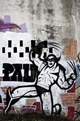 Lobezno, ez pa vezlo (santiaraujo) Tags: eos graffiti vigo araujo 500d lobezno vanorte santiarajo