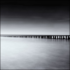 Square II - Lines on the Horizon (Joel Tjintjelaar) Tags: longexposure sea blackandwhite bw nature monochrome digital canon silver square u2 eos rebel blackwhite long exposure angle zwartwit no horizon north wide noordzee natuur wideangle zeeland zee line burning burn northsea crop pro dodge ultra squarecrop hiroshi 1024 domburg sugimoto uwa ndfilter hiroshisugimoto ultrawideangle zww dodging dodgeandburn dodgingandburning xti efex grayfilter 400d rebelxti eos400d canoneos400d canoneosdigitalrebelxti 10stops 1024mm blackwhitelandscape uwalens monochromelandscape bw110nd silverefexpro nolineonthehorizon tamron1024 tjintjelaar tamron1024mm tamronspaf1024mmf3545diii