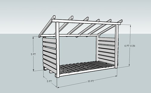 Free plans for a firewood shed | Lidya
