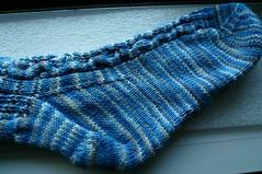 Rhiannon Sock 1 (foot)