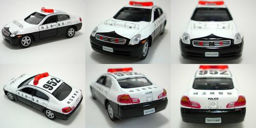 Highway patrol car - NISSAN Skyline (V35)