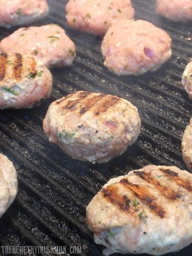 Chicken Tarragon Burgers