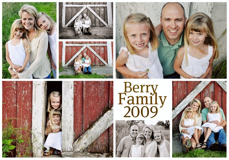 Berry Family 2009 Collage