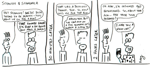 366 Cartoons - 147 - Schmuzzy and Schmerica