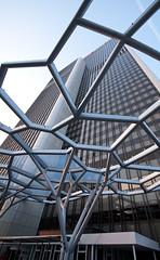 Frankfurt - Marriott (srmurphy) Tags: architecture skyscraper marriott germany deutschland hotel abend hessen frankfurt architektur messe gebude frankfurtammain 2010 hochhaus messefrankfurt d90 messegelnde sigma1020mmf456exdchsm marriottfrankfurt fotosmitpiotr gettyimagesgermanyq1