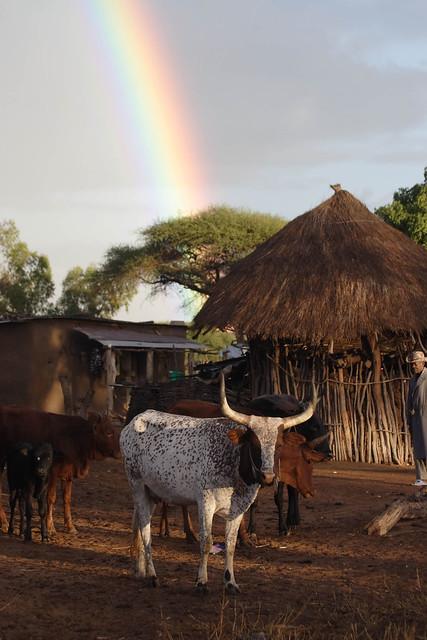 Mozambique, Chokwe, Lhate village