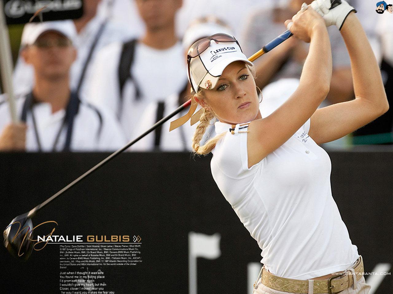 Natalie Gulbis Golf