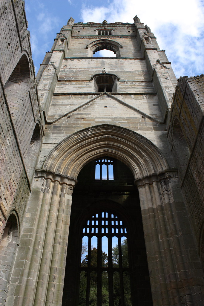 Fountains Abbey - Abbot Huby's tower