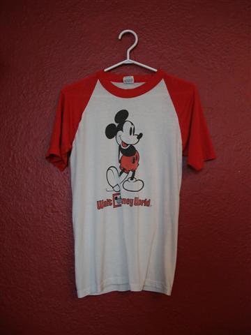 Vintage Mickey Mouse Raglan- $15
