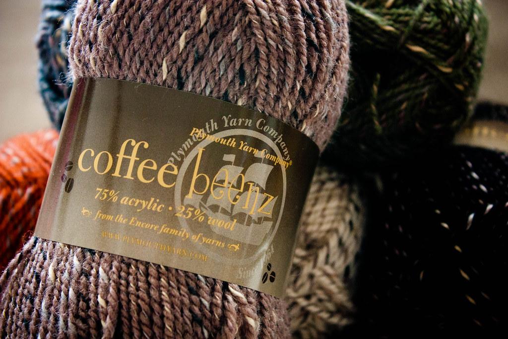 Coffee Beenz Yarn Label