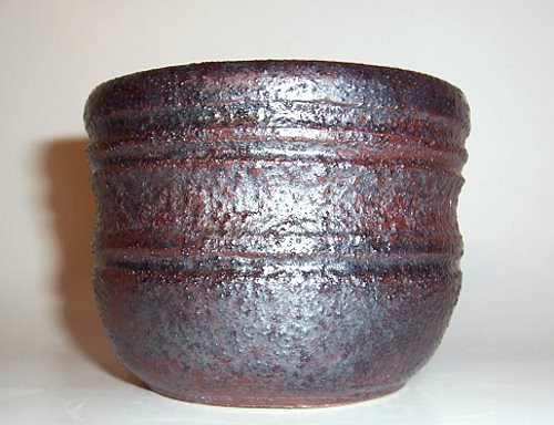First wheel thrown piece greensand glaze 1-2010