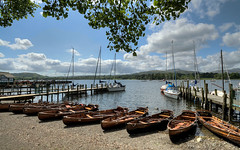 Coniston Water (rosyrosie2009) Tags: uk england water boats photography flickr sailing photos jetty lakes lakedistrict wideangle explore cumbria rowing hdr gettyimages woodenboats photomatix conistonwater tonemapped devonandcornwall d5000 rosiesphotos nikond5000 tamronspaf1024mmf3545diiildasphericalif rosiespooner rosyrosie2009 rosemaryspooner rosiespoonerphotography