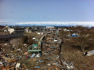 Tsunami Damage in Higashi-Matsushima